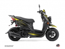 Yamaha BWS 50 - ZUMA 50F Scooter Replica Graphic Kit Black Yellow