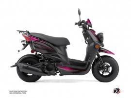 Yamaha BWS 50 - ZUMA 50F Scooter Replica Graphic Kit Black Pink