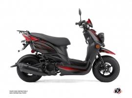 Yamaha BWS 50 - ZUMA 50F Scooter Replica Graphic Kit Black Red