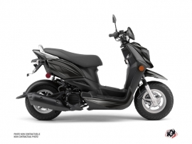 Yamaha ZUMA 50FX Scooter Replica Graphic Kit Black Grey