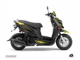 Yamaha ZUMA 50FX Scooter Replica Graphic Kit Black Yellow