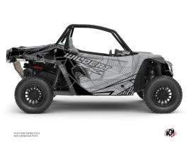 Arctic Cat Textron Wildcat XX UTV Requiem Graphic Kit Black Grey FULL