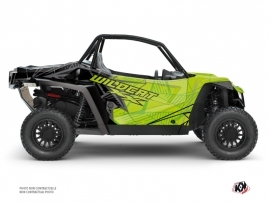 Arctic Cat Textron Wildcat XX UTV Requiem Graphic Kit Black Green