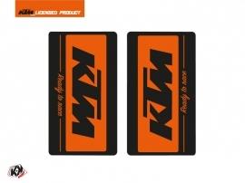 Graphic Kit Fork protection stickers Retro Dirt Bike KTM SX-SXF EXC-EXCF Orange