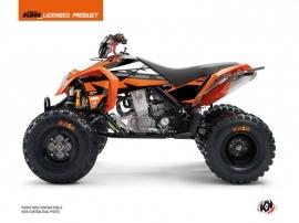 KTM 450-525 SX ATV Rift Graphic Kit Orange Black