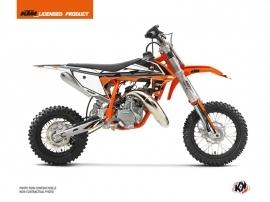 KTM 50 SX Dirt Bike Rift Graphic Kit Orange Black