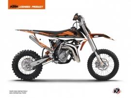 KTM 65 SX Dirt Bike Rift Graphic Kit Black Orange