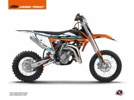 KTM 65 SX Dirt Bike Rift Graphic Kit Orange Blue