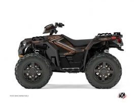 Kit Déco Quad Rock Polaris 1000 Sportsman XP Forest Marron