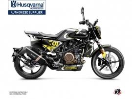 Kit Déco Moto Rocket Husqvarna Svartpilen 701 Gris Jaune