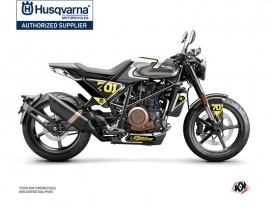 Husqvarna Vitpilen 701 Street Bike Rocket Graphic Kit Grey Yellow