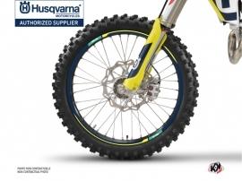 Graphic Kit Wheel decals Rocky Dirt Bike Husqvarna TC-FC TE-FE Blue