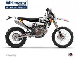 Husqvarna 250 FE Dirt Bike Rocky Graphic Kit Black