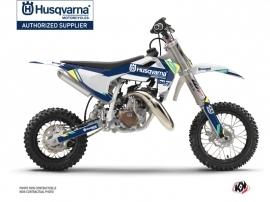 Kit Déco Moto Cross Rocky Husqvarna TC 50 Bleu