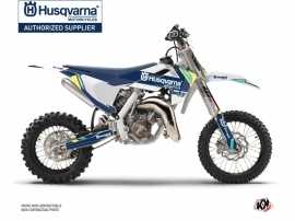 Husqvarna TC 65 Dirt Bike Rocky Graphic Kit Blue