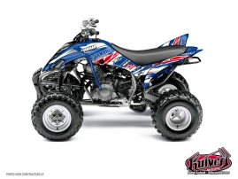 Yamaha 350 Raptor ATV Replica Romain Couprie Graphic Kit 2012