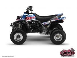 Yamaha Banshee ATV Replica Romain Couprie Graphic Kit 2012