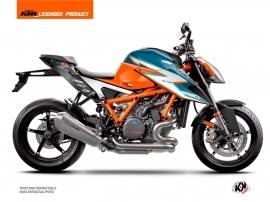 KTM Super Duke 1290 R 2020-2022 Street Bike RR21 Graphic Kit Orange FULL