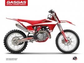 Kit Déco Moto Cross Rush GASGAS EXF 350 Rouge