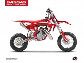 GASGAS MC 50 Dirt Bike Rush Graphic Kit Red