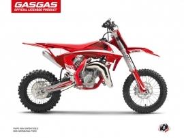 Kit Déco Moto Cross Rush GASGAS MC 65 Rouge