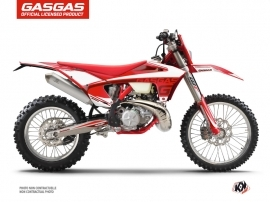 GASGAS ECF Dirt Bike Rush Graphic Kit Red