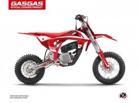 GASGAS MC-E 5 Dirt Rush Flash Graphic Kit Red