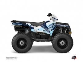 Polaris 570 Sportsman Forest ATV Serie Graphic Kit White