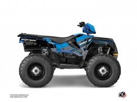 Kit Déco Quad Serie Polaris 570 Sportsman Touring Bleu
