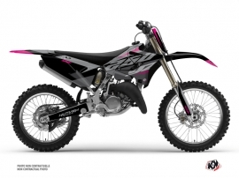 Yamaha 250 YZ Dirt Bike Skew Graphic Kit Pink