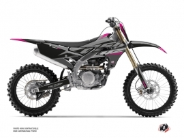 Yamaha 250 YZF Dirt Bike Skew Graphic Kit Pink