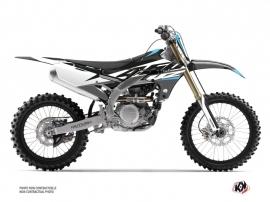 Yamaha 450 YZF Dirt Bike Skew Graphic Kit Grey