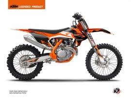 KTM 250 SXF Dirt Bike Skyline Graphic Kit Orange