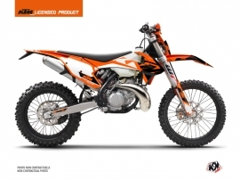 KTM EXC-EXCF Dirt Bike Skyline Graphic Kit Orange