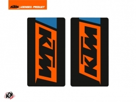 Graphic Kit Fork protection stickers Skyline Dirt Bike KTM SX-SXF EXC-EXCF Blue