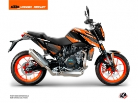 Kit Déco Moto Slash KTM Duke 690 R Orange Noir