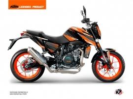 KTM Super Duke 990 Street Bike Slash Graphic Kit Orange Black