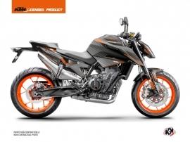 Kit Déco Moto Slash KTM Duke 790 Noir Orange