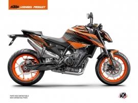 Kit Déco Moto Slash KTM Duke 790 Orange Noir