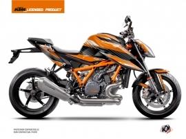 KTM Super Duke 1290 R Street Bike Slash Graphic Kit Orange Black