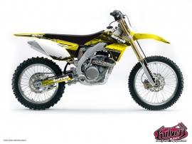 Suzuki 250 RM Dirt Bike Slider Graphic Kit