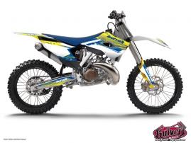 Husqvarna 125 TE Dirt Bike Slider Graphic Kit