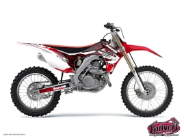Honda 250 CR Dirt Bike Slider Graphic Kit