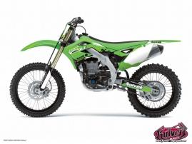Kawasaki 85 KX Dirt Bike Slider Graphic Kit