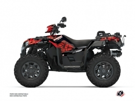 Kit Déco Quad Spin Polaris 1000 Sportsman XP S Forest Noir Rouge