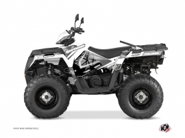 Polaris 570 Sportsman Forest ATV Spin Graphic Kit Grey