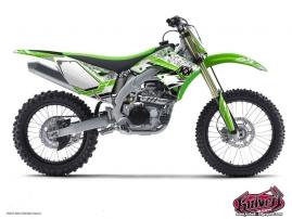Kawasaki 125 KX Dirt Bike Spirit Graphic Kit