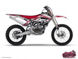 Yamaha 250 YZ Dirt Bike Spirit Graphic Kit Red