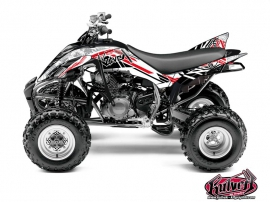 Yamaha 350 Raptor ATV Spirit Graphic Kit Red