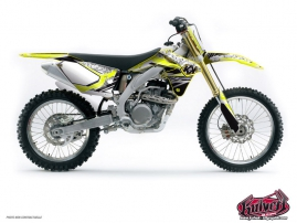 Suzuki 450 RMZ Dirt Bike Spirit Graphic Kit